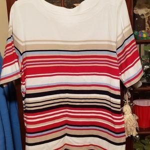 Christopher Banks Striped Shirt size xl